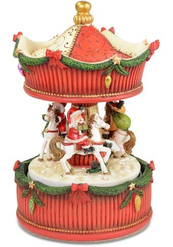 RIFFELMACHER & WEINBERGER Spieluhr »Karussell«, mit Melodie, drehend, Höhe ca. 17 cm kaufen