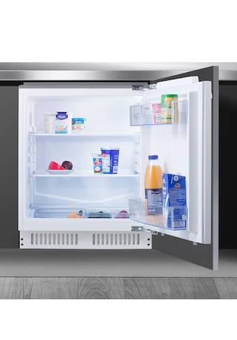 Amica Einbaukühlschrank, UVKS 16149, 81,0 cm hoch, 59,6 cm breit, Sicherheitsglas kaufen