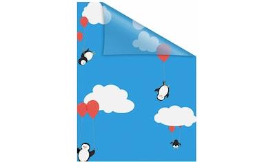 Fensterfolie, »Pinguine«, LICHTBLICK, blickdicht, strukturiert kaufen