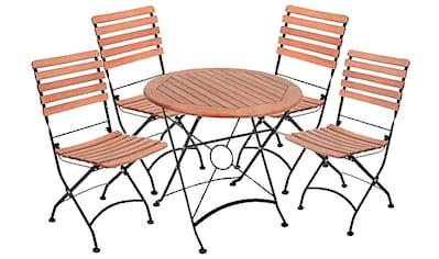 Garden Pleasure Gartenmöbelset »WIEN Set«, (Set, 5 tlg.) kaufen