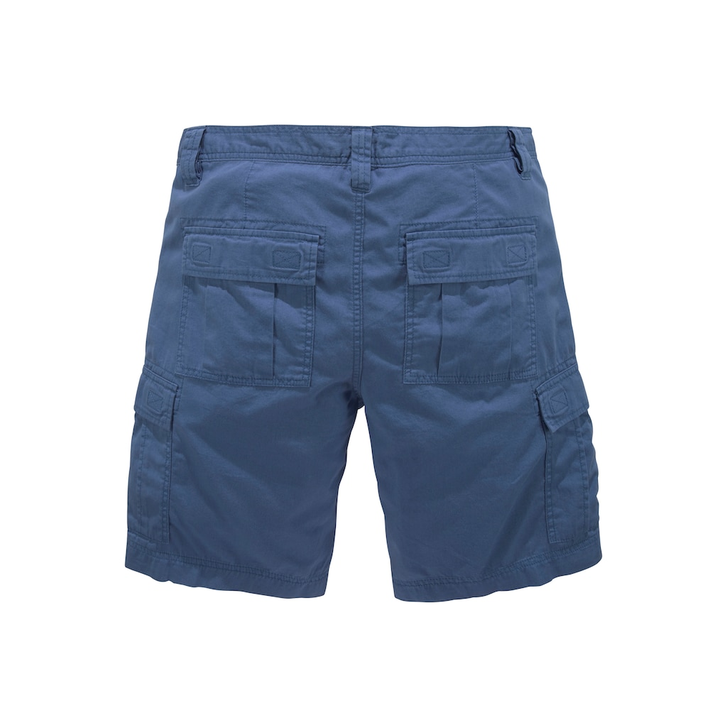 Man's World Cargoshorts, unifarben