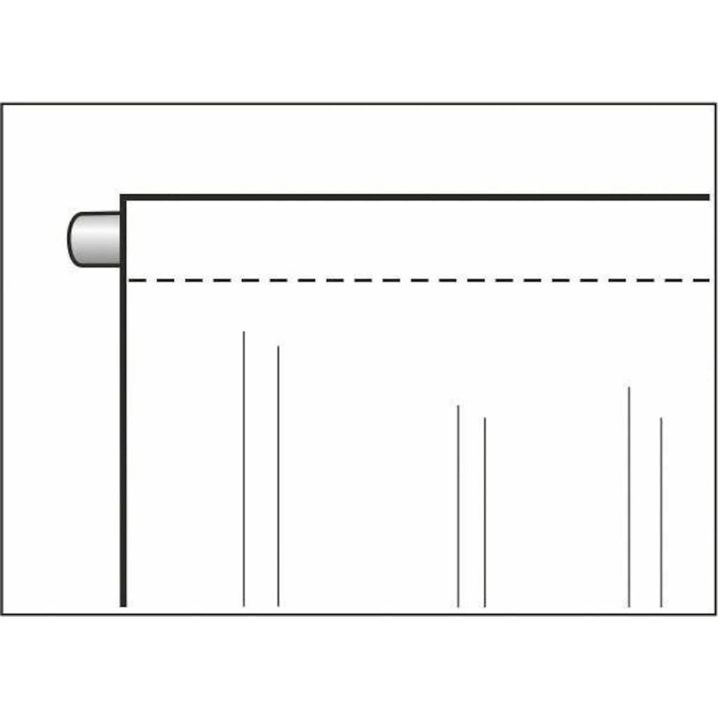 WILLKOMMEN ZUHAUSE by ALBANI GROUP Vorhang »Christbaum«, HxB: 225x100, Jacquard-Fensterbild