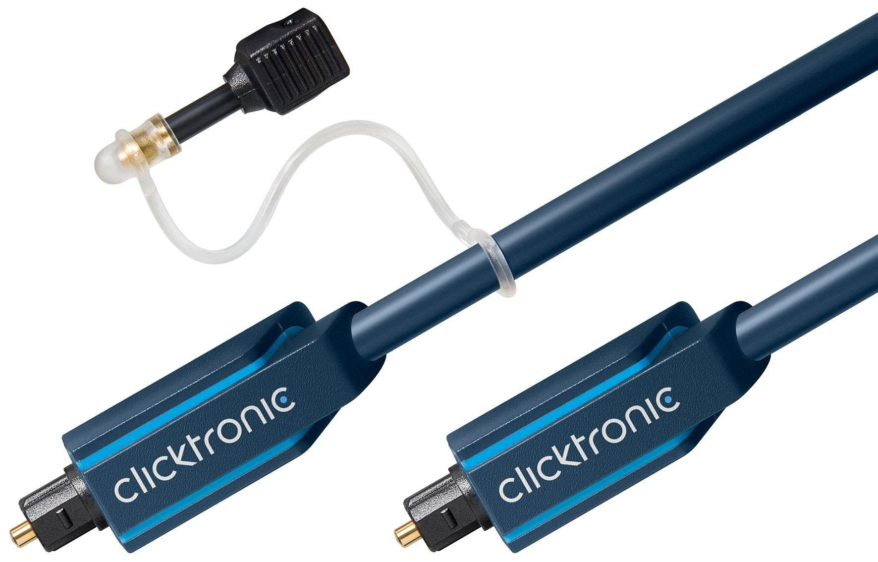 Clicktronic Opto-Kabel-Set »Opt. Digitalkabel für Audiodaten inkl. Adapter«