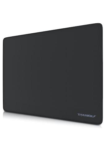 Titanwolf XL Speed Gaming Mauspad  -  44 x 35 x 0,3 cm »Mousepad / Präzision und Geschwindigkeit« kaufen