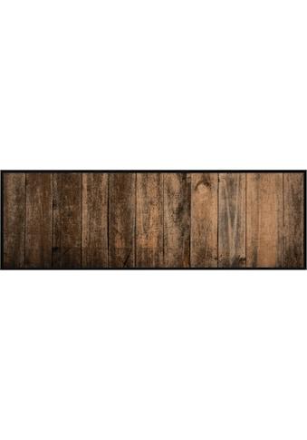 Zala Living Küchenläufer »Wood«, rechteckig, 5 mm Höhe, In- und Outdoor geeignet, waschbar kaufen