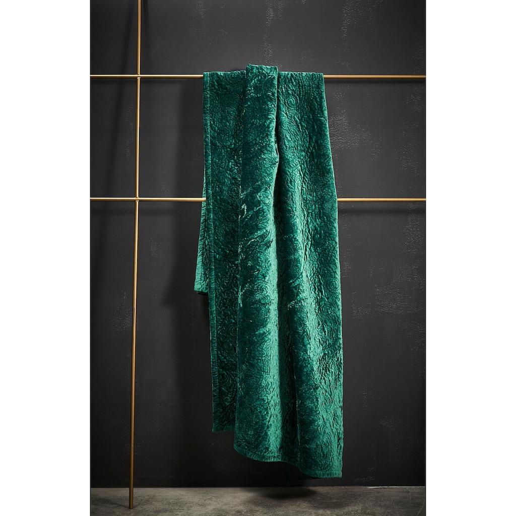 Essenza Tagesdecke »Roeby«, mit elegant gesticktem Paisley-Muster