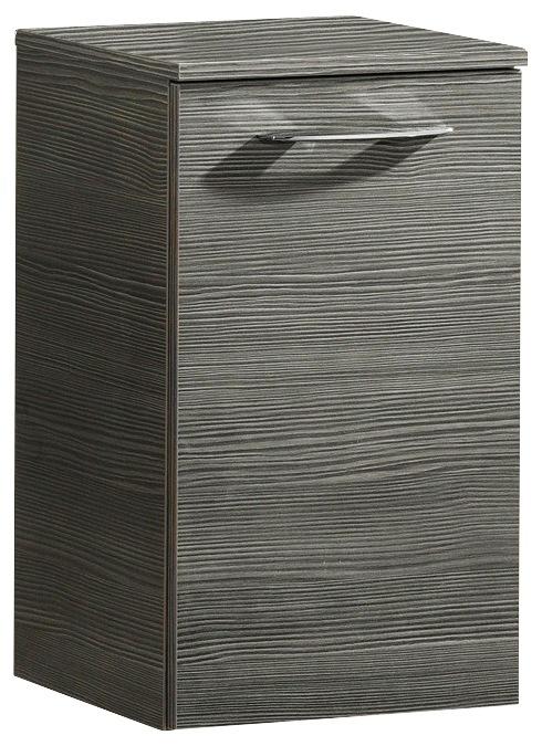 FACKELMANN Badunterschrank »Vadea«, Breite 35, 5 cm | Küche und Esszimmer > Küchenschränke > Küchen-Unterschränke | Grau | Spanplatte - Metall - Hochglanz - Hochglänzend | Fackelmann