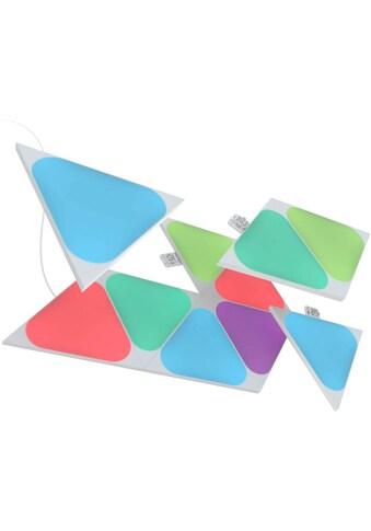 nanoleaf LED Panel »Nanoleaf Shapes Triangles Mini Expansion Pack - 10 Panels«,... kaufen