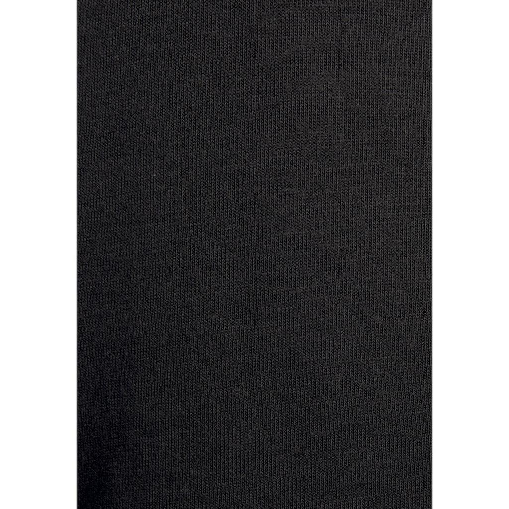 Bench. Sweatjacke, mit Stehkragen und Logotape