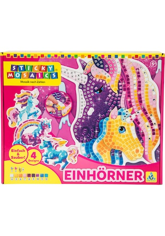 Sticky Mosaics Kreativset »Einhörner« kaufen