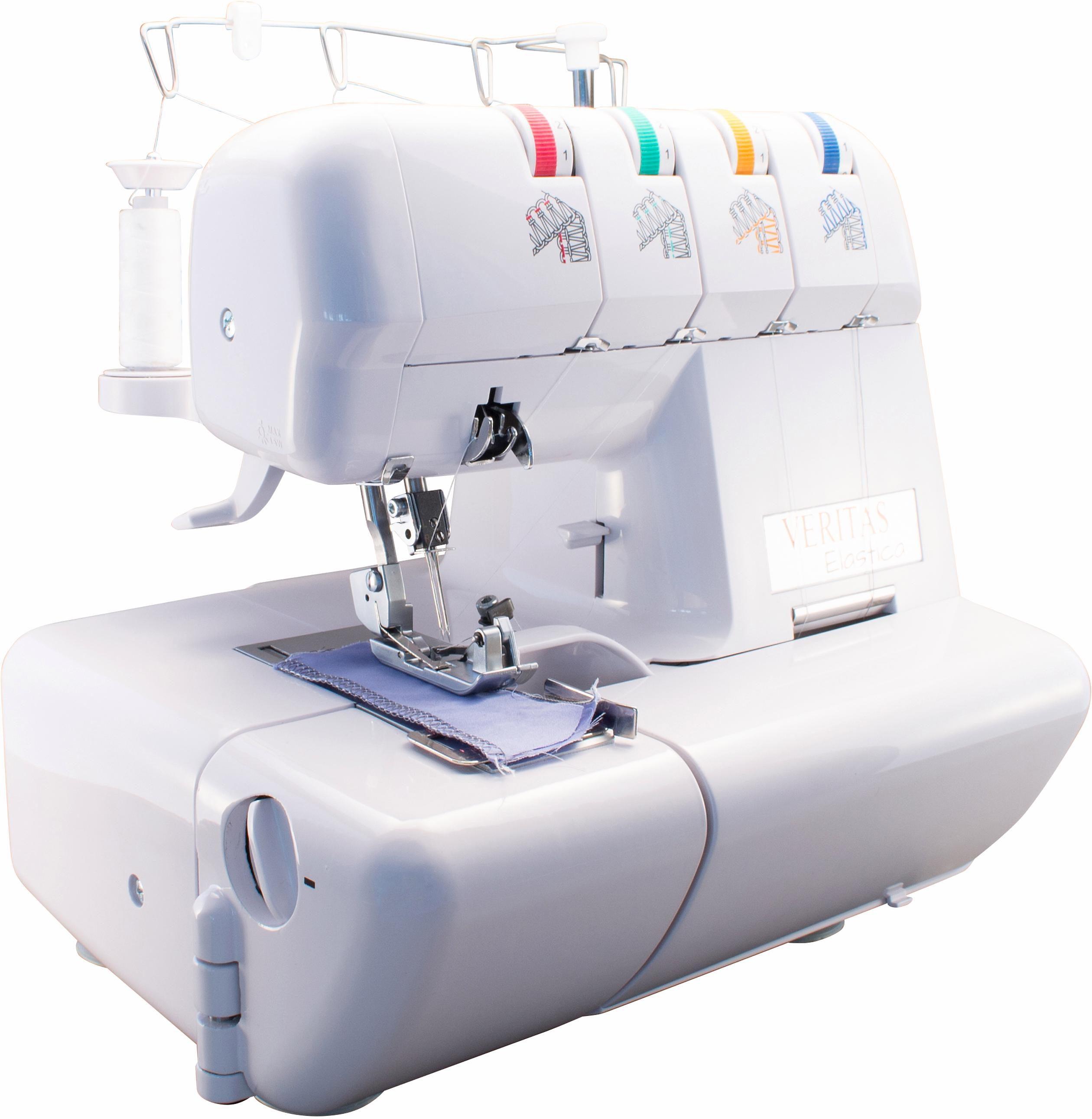 Veritas Overlock-Nähmaschine Elastica | Flur & Diele > Haushaltsgeräte > Strick und Nähmaschinen | Weiß | VERITAS