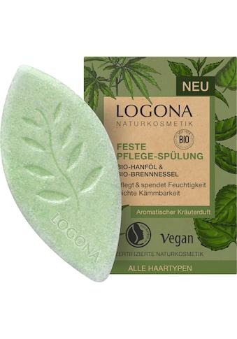 LOGONA Haarspülung »Logona Feste Spülung Hanföl & Brennnessel« kaufen