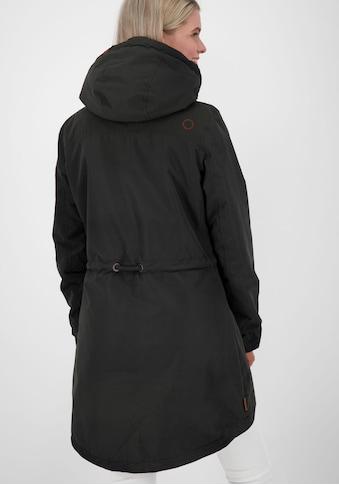 Alife & Kickin Outdoorjacke »CarlottaAK«, femininer Parka mit hoher Stehkragen-Kapuze kaufen