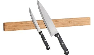 Zeller Present Wand-Magnet Messer-Leiste »Bamboo«, 1 tlg. kaufen