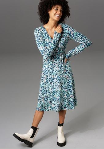 Aniston CASUAL Jerseykleid, in Wickeloptik - NEUE KOLLEKTION kaufen
