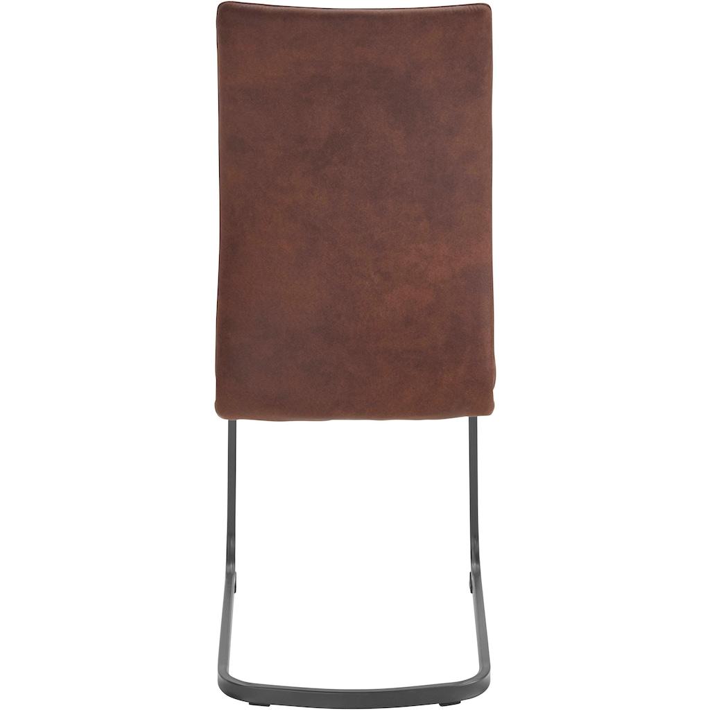 HELA Esszimmerstuhl »Katrin«, im 2er oder 4er-Set, Bezug aus strapazierfähiger Microfaser