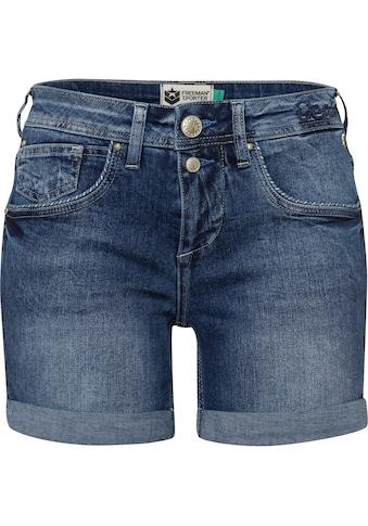 Freeman T. Porter Shorts »Romie«, mit gestreiften Paspeln an den Front-Taschen kaufen