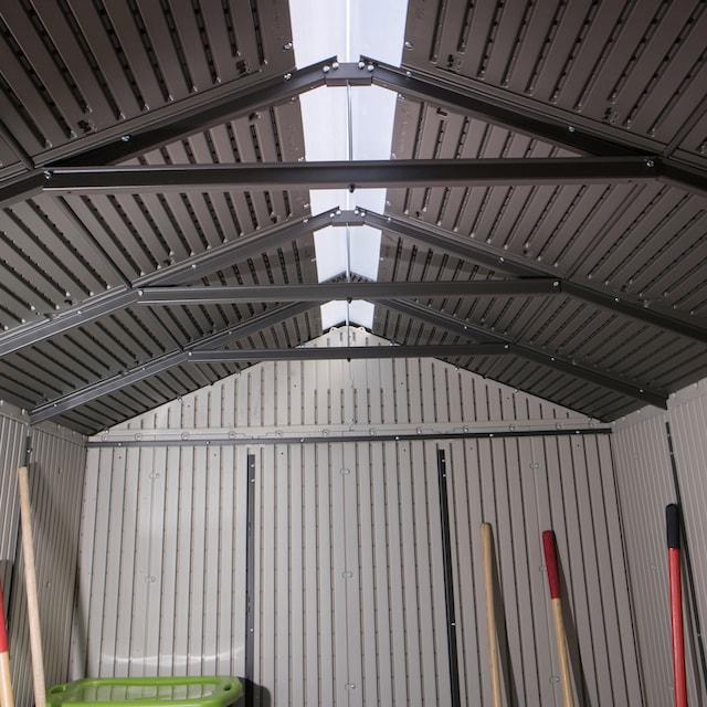LIFETIME Set: Gerätehaus »Phoenix«, Kunststoff, BxT: 214x285 cm, inkl. Fußboden und Regale