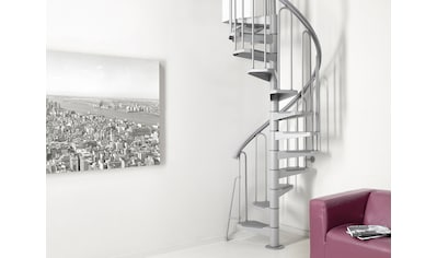 STARWOOD Spindeltreppe »Nice 3«, Ø: 100 cm, 12 Stufen kaufen