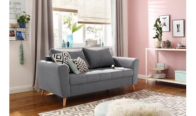 Home affaire 2-Sitzer »Jordsand«, mit feiner Steppung im skandinavischem Design kaufen