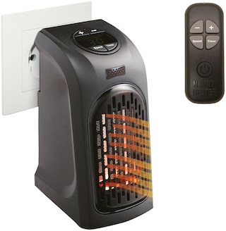 livington heizl ftger t handy heater 370 w mit fernbedienung auf rechnung bestellen. Black Bedroom Furniture Sets. Home Design Ideas