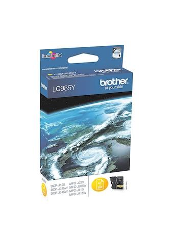 Brother Tintenpatrone »LC - 985Y« kaufen