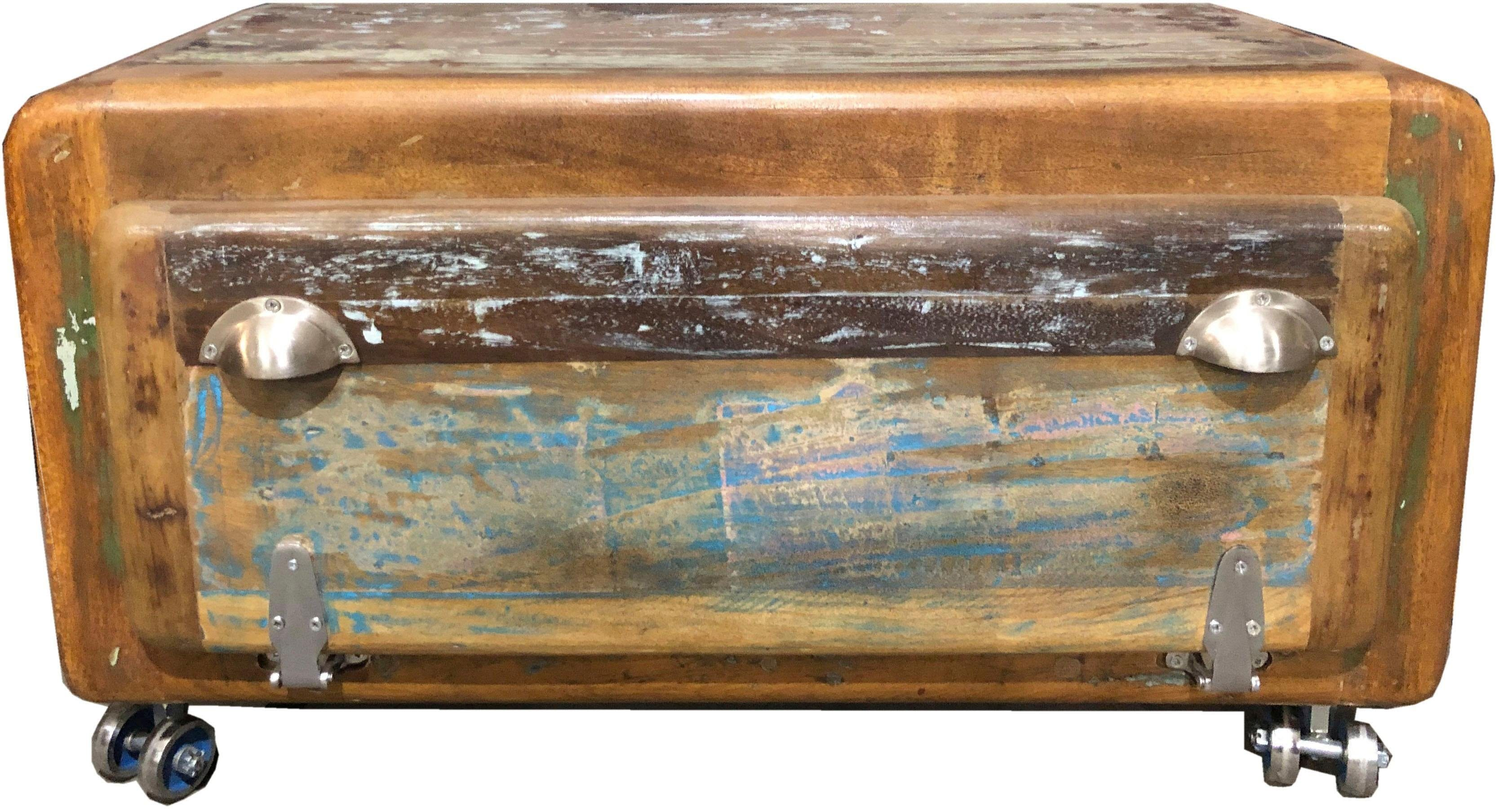 SIT Schuhschrank »Fridge«, aus recyceltem Altholz, Shabby Chic, Vintage günstig online kaufen
