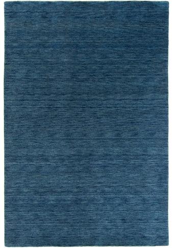 morgenland Wollteppich »GABBEH FEIN UNI«, rechteckig, 18 mm Höhe, reine Schurwolle, uni, Wohnzimmer kaufen