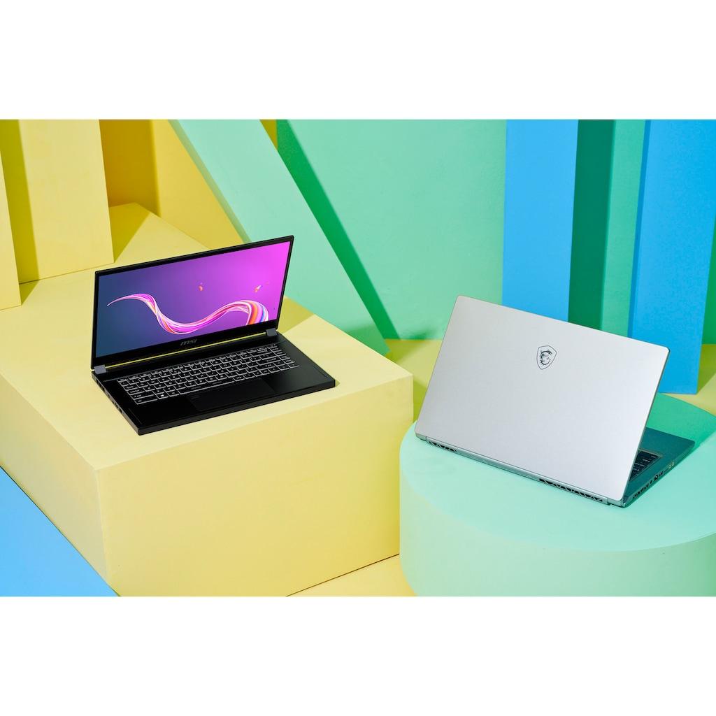"MSI Notebook »Creator 15 A10UET-471«, (39,6 cm/15,6 "" Intel Core i7 GeForce RTX™ 3060\r\n 1000 GB SSD), Kostenloses Upgrade auf Windows 11, sobald verfügbar"