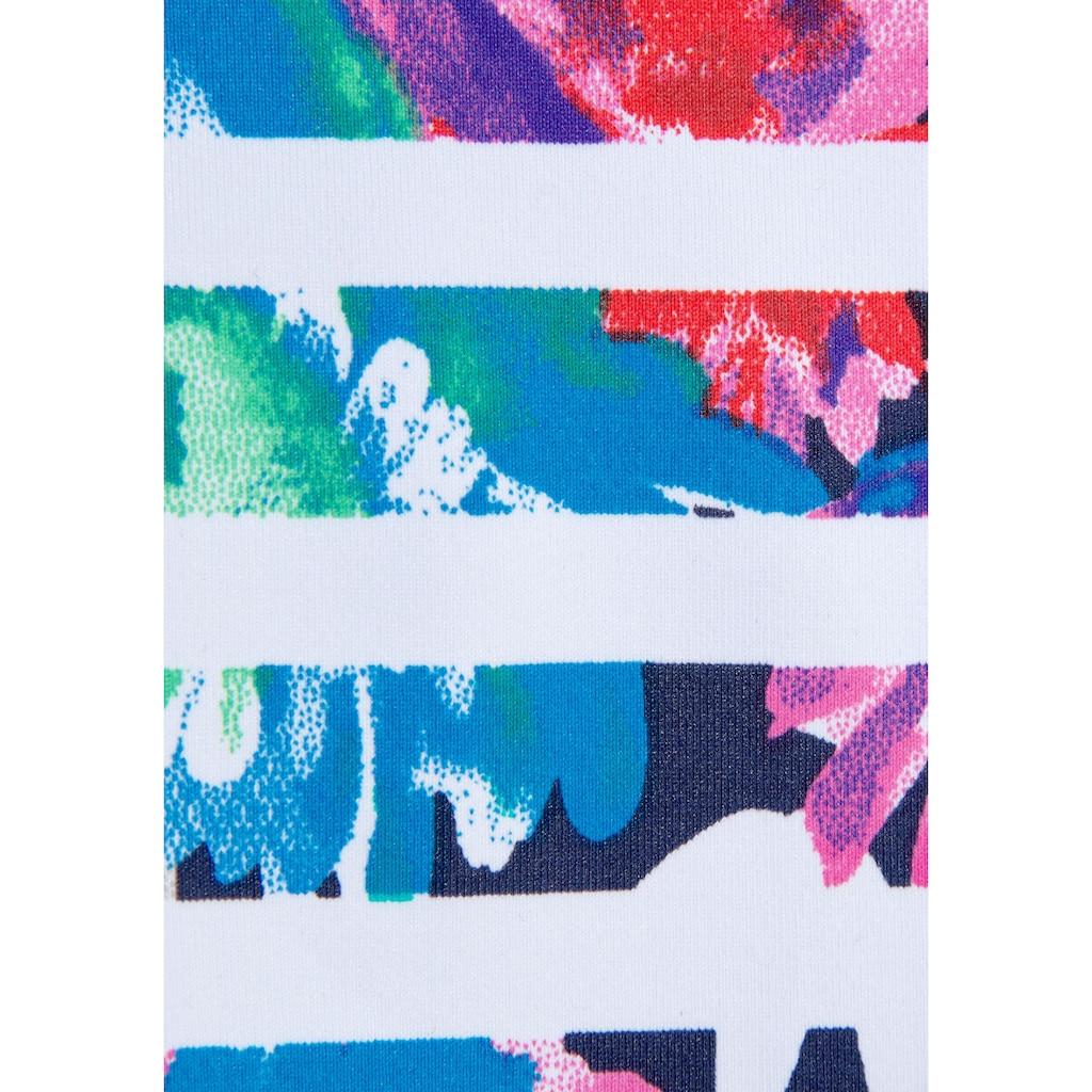 Sunseeker Bügel-Tankini, im trendigen Tropical-Print