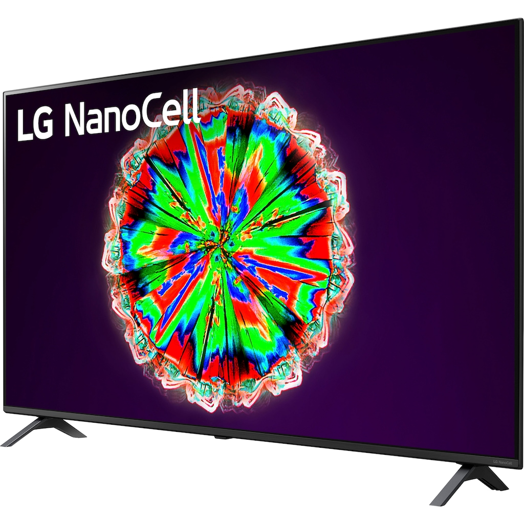 "LG LED-Fernseher »65NANO806NA«, 164 cm/65 "", 4K Ultra HD, Smart-TV, NanoCell"