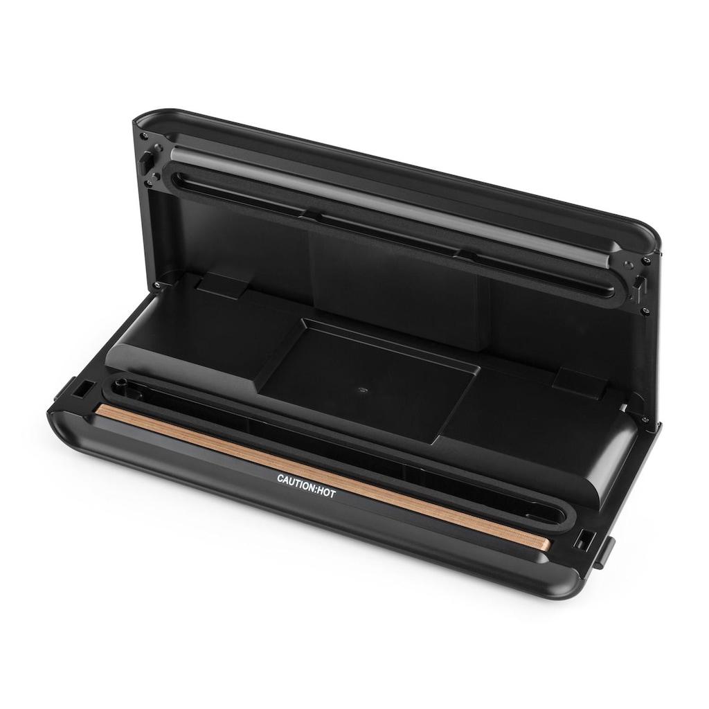 Klarstein Vakuumierer Vakuumiergerät 30cm Vakuumbeutel 0,8 bar 12 l/min