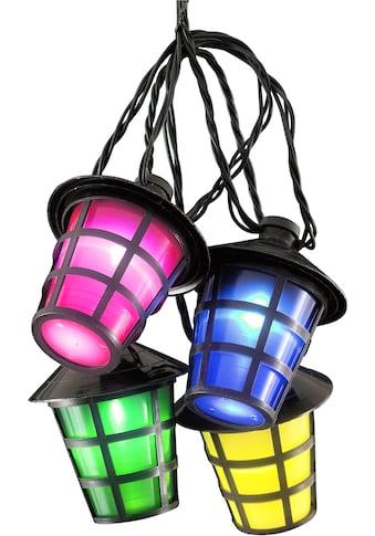 KONSTSMIDE LED-Lichterkette, 40 St.-flammig, LED Lampion Lichterkette, 40 bunten... kaufen