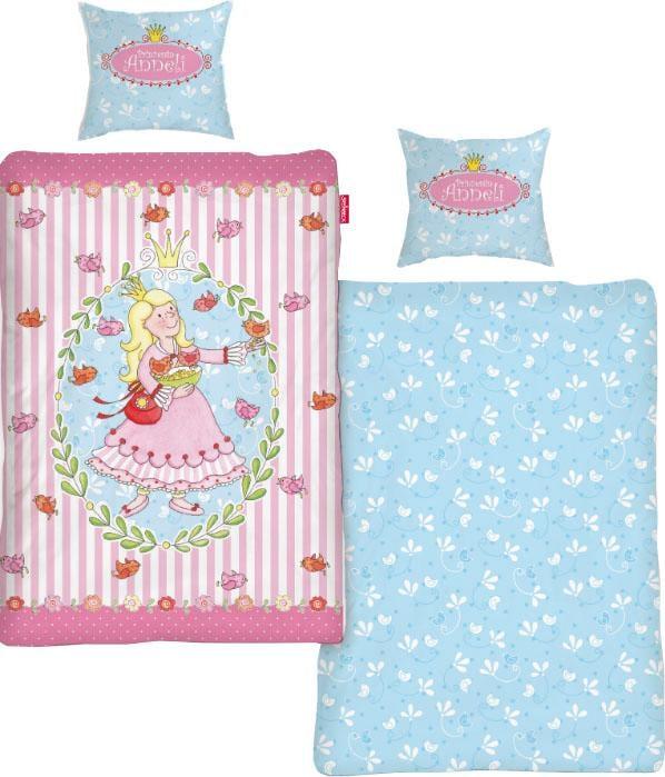 Kinderbettwäsche »Prinzessin Anneli Flower« | Kinderzimmer > Textilien für Kinder > Kinderbettwäsche | Rosa | Baumwolle | QUELLE