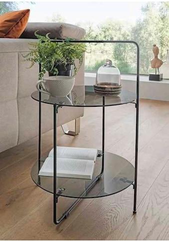 Paroli Beistelltisch, Grauglas kaufen