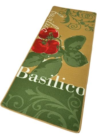 HANSE Home Küchenläufer »Basilico«, rechteckig, 8 mm Höhe, Kurzflor, gekettelt kaufen