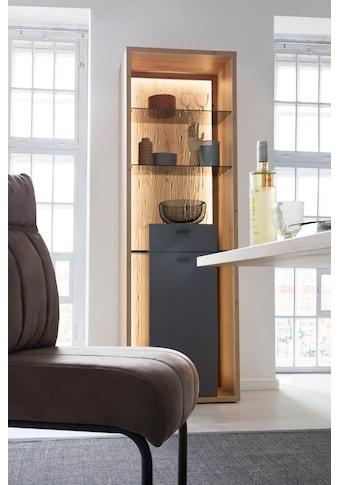 MCA furniture Vitrine »Lizzano«, moderner Landhausstil, Wohnzimmerschrank mit 3-D... kaufen