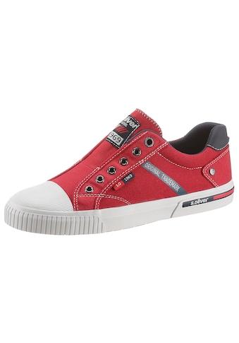 s.Oliver Sneaker, in modischer Jeans-Optik kaufen