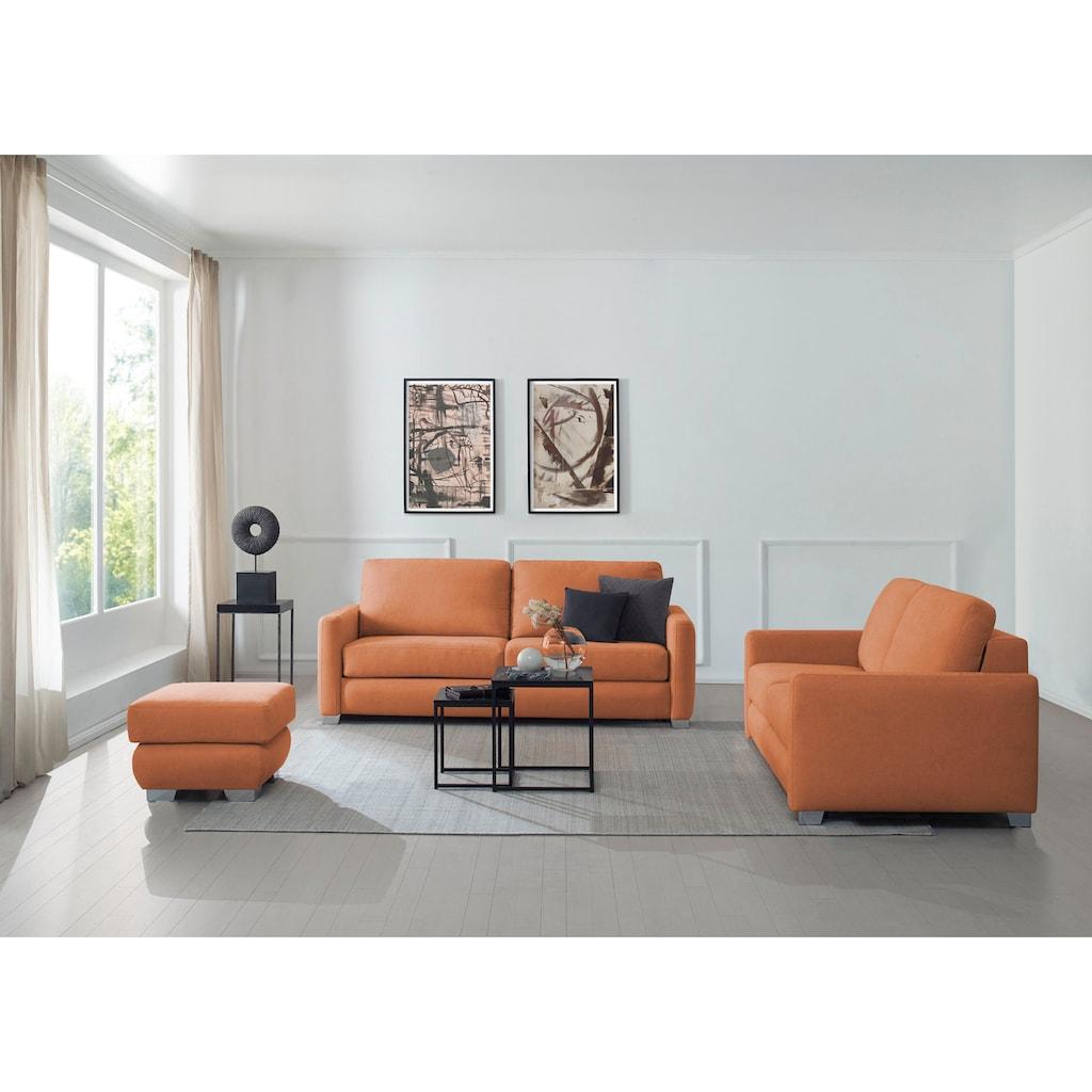 CALIZZA INTERIORS Schlafsofa »Opal«, mit Bettfunktion, Breite 195 cm