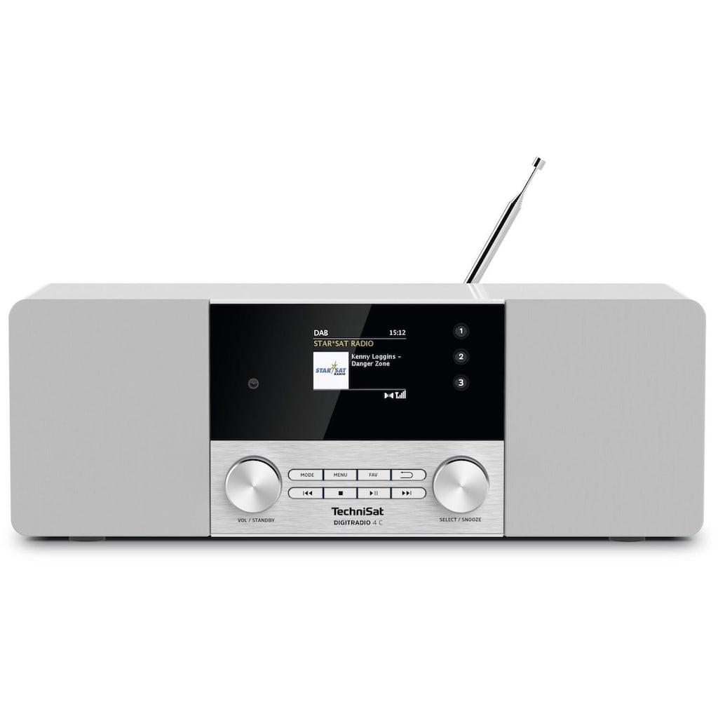 TechniSat DAB+ Digitalradio, UKW, Bluetooth, Farbdisplay, AUX, Radiowecker