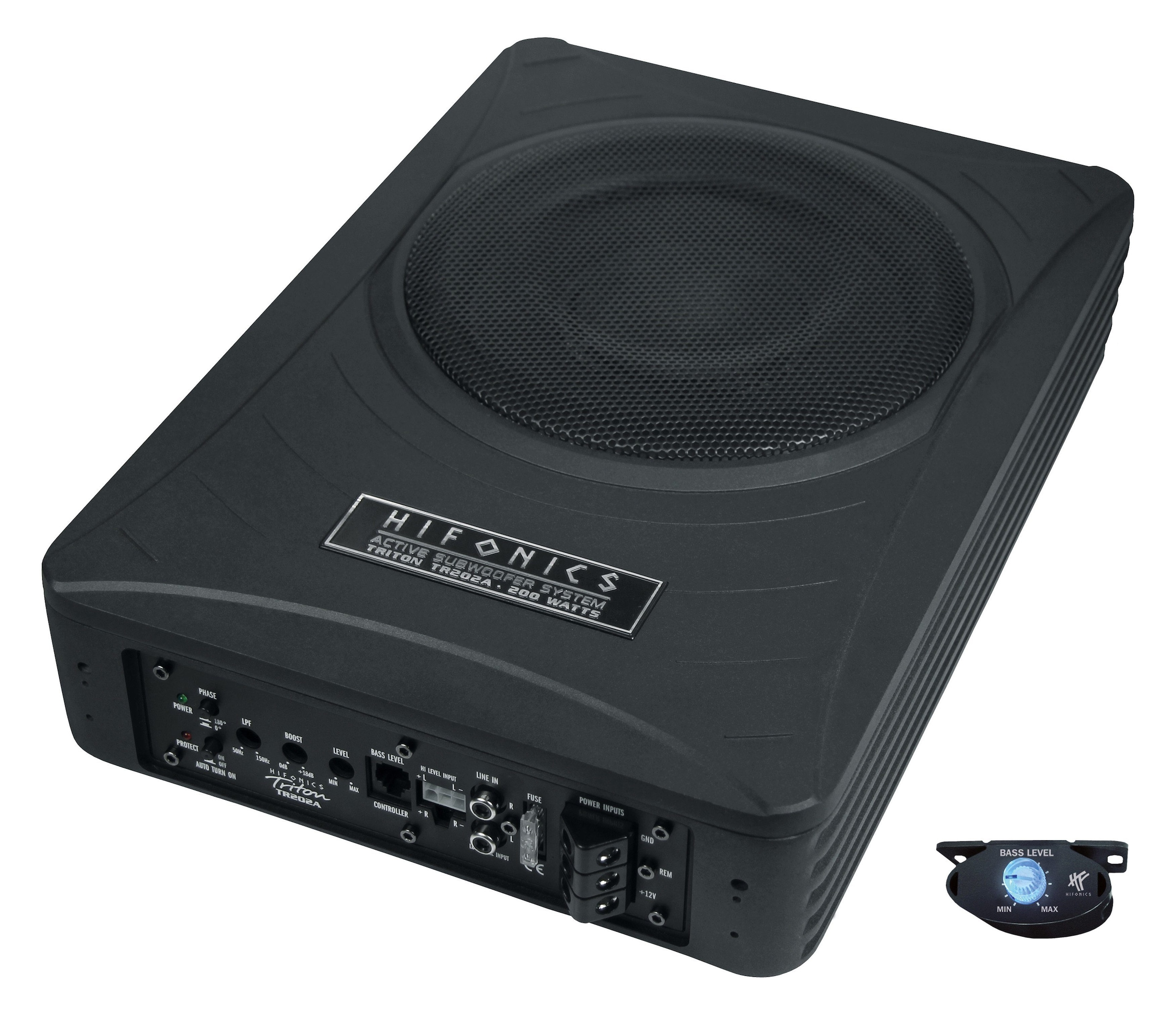 Blaupunkt 20cm GTb-8200A Endstufe Aktivbass 12V Aktivsubwoofer 200W Bassbox PKW