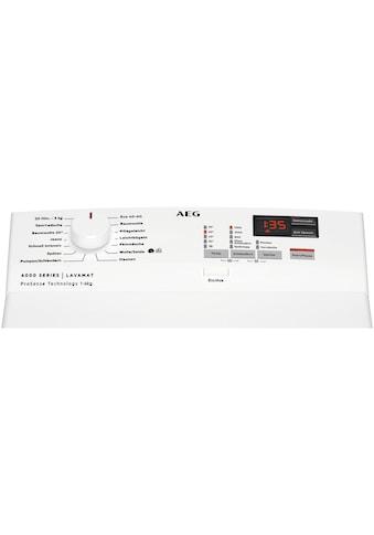 AEG Waschmaschine Toplader, L6TBA41260, 6 kg, 1200 U/min kaufen