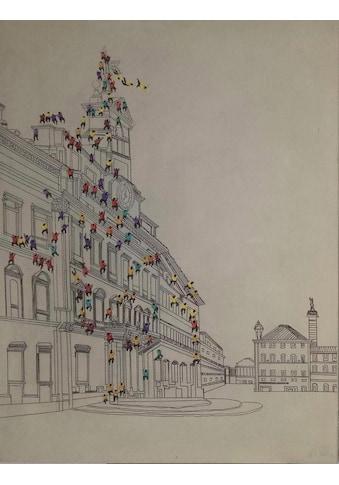 Kayoom Ölbild »Menschenmenge I« kaufen