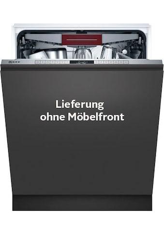 NEFF vollintegrierbarer Geschirrspüler »S155HCX29E«, N 50, S155HCX29E, 14 Maßgedecke kaufen
