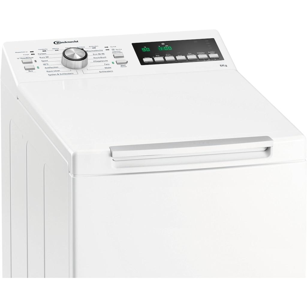 BAUKNECHT Waschmaschine Toplader »WAT 6312 N«, WAT 6312 N