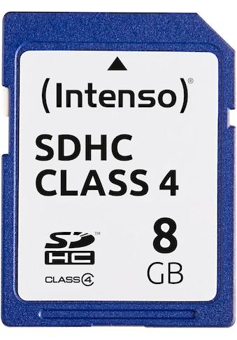 Intenso »SDHC Class 4« Speicherkarte (Lesegeschwindigkeit maximal 21 MB/s) kaufen