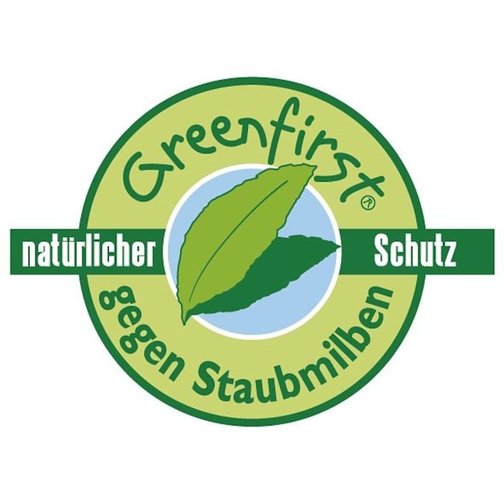 f.a.n. Schlafkomfort Kunstfaserkopfkissen »Greenfirst«, Bezug: 100% Baumwolle, (1 St.)