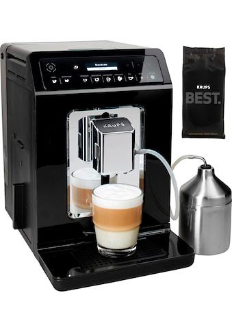 Krups Kaffeevollautomat »Evidence EA8918«, Doppel-Cappuccino-Funktion, 15 Getränkespezialitäten, inkl. 250 gr ESPRESSO KAFFEE - KRUPS BEST im Wert von 6,99 UVP kaufen