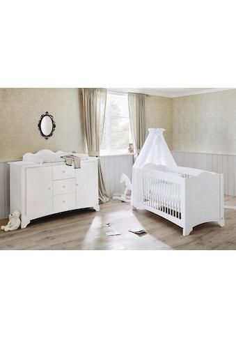 Pinolino® Babymöbel-Set »Pino«, (Spar-Set, 2 St.), extrabreit; mit Kinderbett und... kaufen
