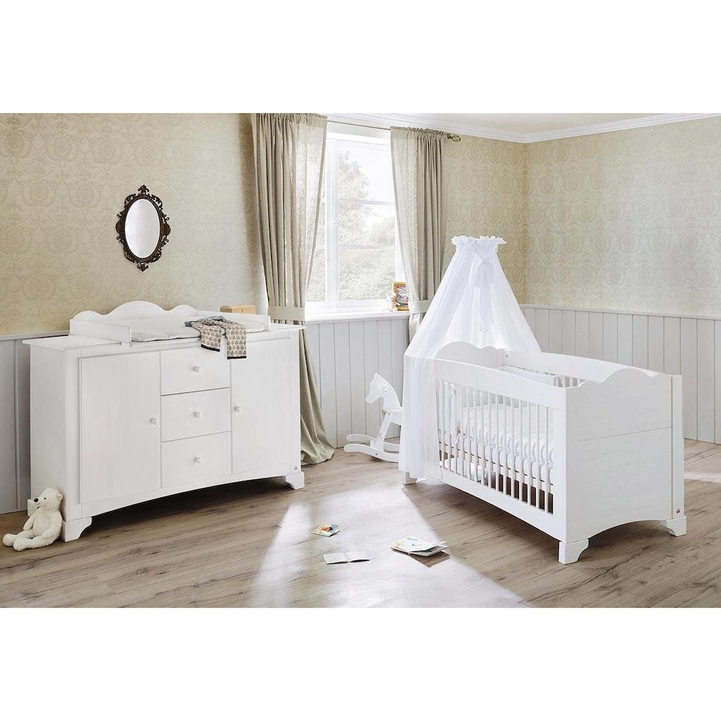 Pinolino® Babymöbel-Set »Pino«, (Spar-Set, 2 St.), extrabreit; mit Kinderbett und Wickelkommode; Made in Europe